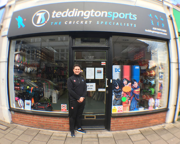 Teddington Sports Shop Front